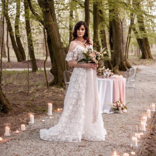 Fotograf ślubny Bełchatów, Sesja ślubna boho